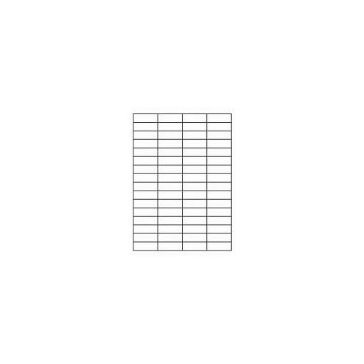 Etikett A4 Utility 48,5 x 16,9 mm, 100 lehte, 64tk lehel