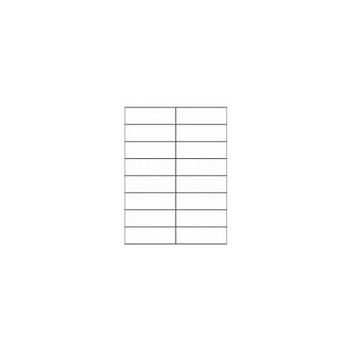 Etikett A4 Utility 105 x 35 mm, 100 lehte, 16tk lehel