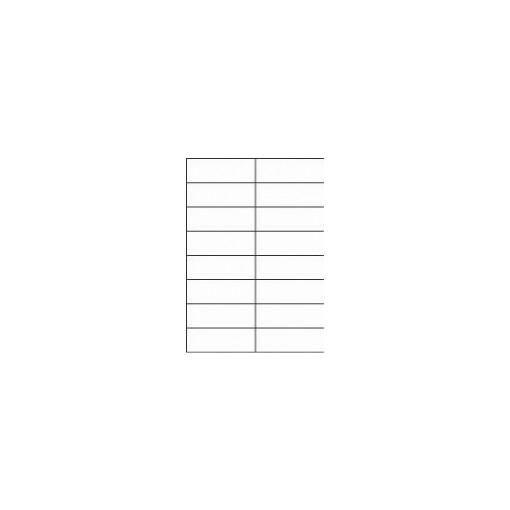 Etikett A4 Utility 105 x 37 mm, 100 lehte, 16tk lehel