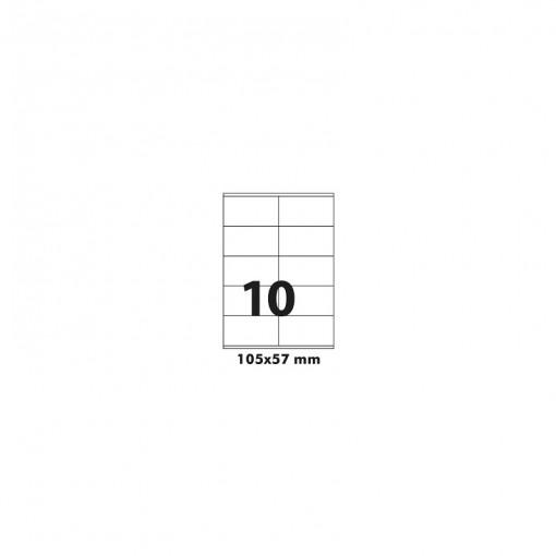 Etikett A4 Utility 105 x 57 mm, 100 lehte, 10tk lehel