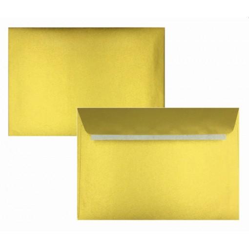 Ümbrik C6 114x162mm, kuld, 120gsm