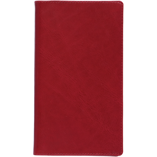 Pocket planner M1, LUX covers (dark red)