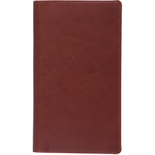 Pocket planner EURO, LUX covers (brown)