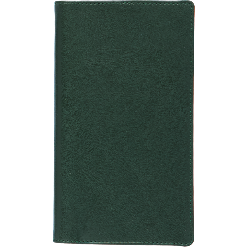 Pocket planner EURO, LUX covers (green)