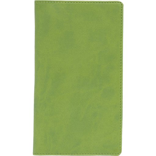 Pocket planner M1, LUX covers (lime green)