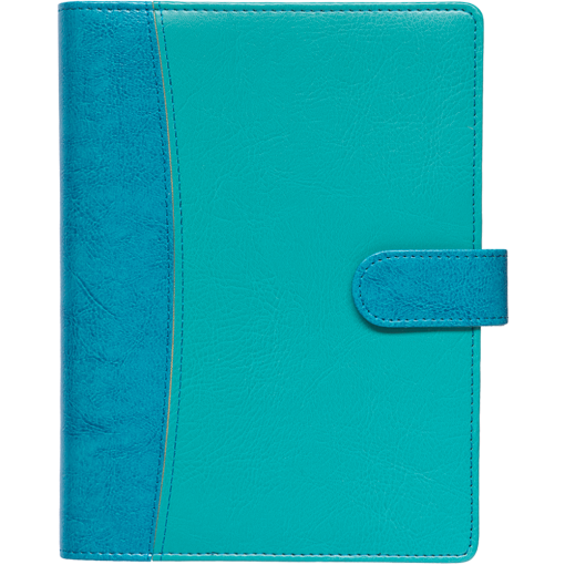 Student A5 wire-bound Lux – turquoise