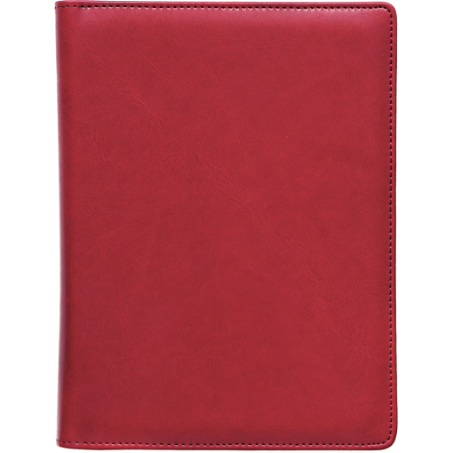 Boss Week A5 universal, Comfort covers (DARK RED)