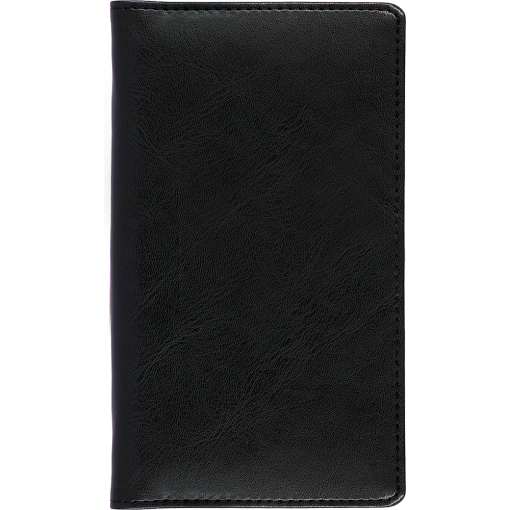Pocket planner EURO, LUX covers (black)