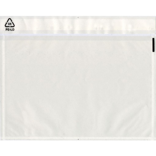 Envelope transparent for post package C4 adhesive 31,5x22,5